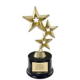 """7"""" Award Trophy w/ Round Base"""