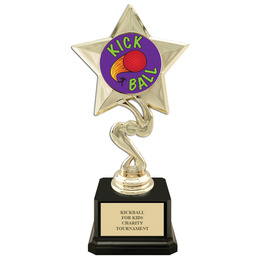 """7"""" Award Trophy w/ Square Base & Insert Top"""