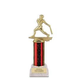 "10"" White HS Base Award Trophy"