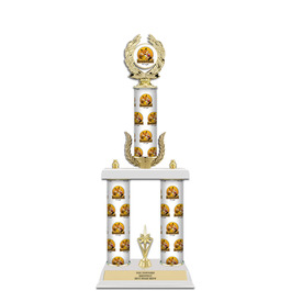 """20"""" Design Your Own Award Trophy w/ Wreath & Trim"""