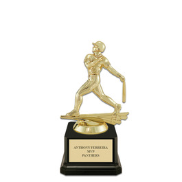 Baseball Trophy w/ Square Base