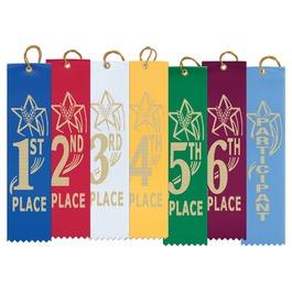 Star Basketball Award Ribbon