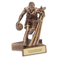 Male Basketball Superstar Resin Trophy