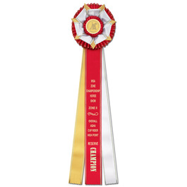 Berkshire Rosette Award Ribbon