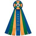 Birkdale Rosette Award Ribbon