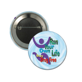 Personalized Drug-Free Buttons