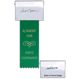 Dog Show ID Cardholder w/ Printed Ribbon