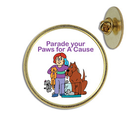 Custom Cat Show Lapel Pin
