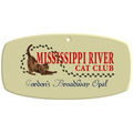 Full Color Cat Show Wall Plaque - Tag Shape
