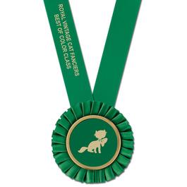Olympian Cat Show Award Sash