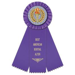 Mere Cat Show Rosette Award Ribbon