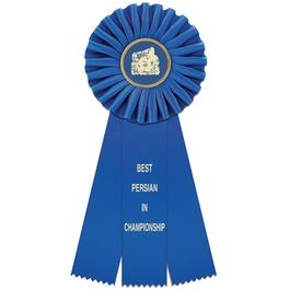 Clare Cat Show Rosette Award Ribbon
