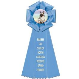 Beauty Cat Show Rosette Award Ribbon