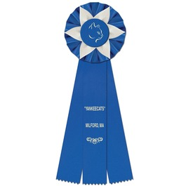 Ewell Cat Show Rosette Award Ribbon