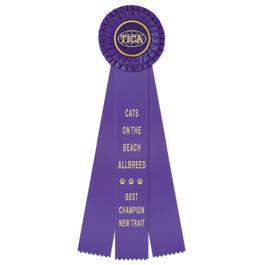 Chester Cat Show Rosette Award Ribbon
