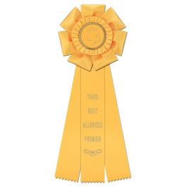 Peerless Cat Show Rosette Award Ribbon