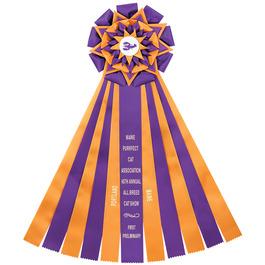 Witley Cat Show Rosette Award Ribbon