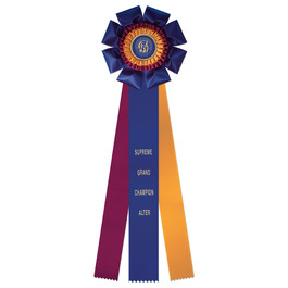 Wellfleet Cat Show Rosette Award Ribbon