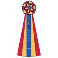 Newton Cat Show Rosette Award Ribbon