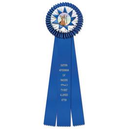 Chatham Cat Show Rosette Award Ribbon