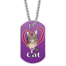 Custom Cat Show Dog Tags