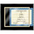 Certificate Plaque - Black Finish