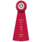 Chester Rosette Award Ribbon