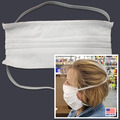Sierra White Face Mask