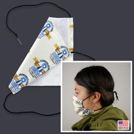 Custom Face Mask w/ String