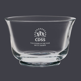 Glass Revere Bowl Trophy