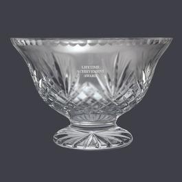 Crystal Vanderbilt Footed Bowl Trophy