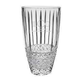 Krystof Crystal Barrel Vase Trophy