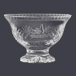 Durham Crystal Pedestal Bowl Trophy