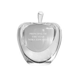 Optical Crystal Apple Scholastic Award