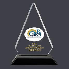 Arrowhead Acrylic Dog Show Award Trophy