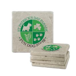 Tumbled Stone Dog Show Award Coasters