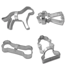 Dog Cookie Cutters - Set of 4