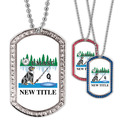 Custom GEM Dog Show Dog Tags