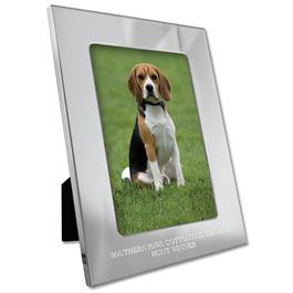 Silhouette Dog Show Award Frame