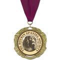 XBX Dog Show Award Medal w/ Grosgrain Neck Ribbon