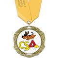 XBX Dog Show Award Medal w/ Satin Neck Ribbon