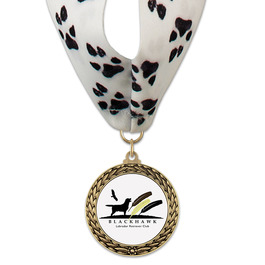 LFL Dog Show Award Medal w/ Millennium Neck Ribbon