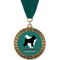 GFL Dog Show Award Medal w/ Grosgrain Neck Ribbon