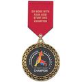 GFL Dog Show Award Medal w/ Satin Drape