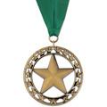 Rising Star Dog Show Award Medal w/ Grosgrain Neck Ribbon