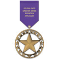 RS Dog Show Award Medal w/ Satin Drape