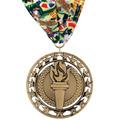Rising Star Dog Show Award Medal w/ Millennium Neck Ribbon
