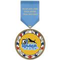 RSG Dog ShowAward Medal w/ Satin Drape