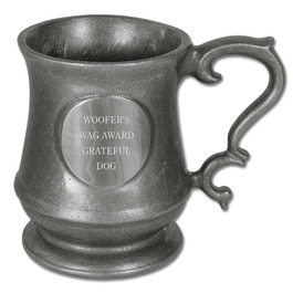 Engraved Salem Dog Show Award Mug