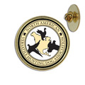 Custom Dog Show Award Lapel Pin